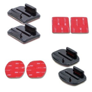 Gopro Curved and Flat 3M Adhesive Mounts (8pc)