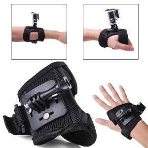 GoPro Wrist Band Mount & Glove strap