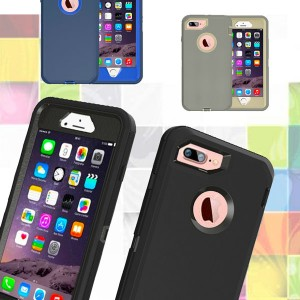 Defender Rugged Case For iPhone 7 Plus