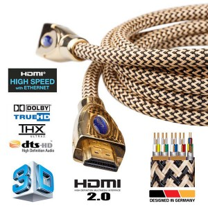 G-link HDMI Cable Gold edition v2.0