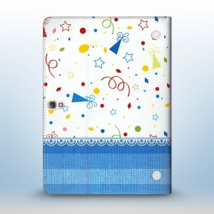 Macada Blue Party Case For Galaxy Tab T800