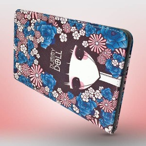 Macada Korean Girl with Flowers Case For Galaxy Tab 8.4 T700