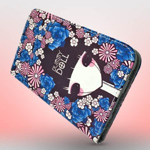 Macada Korean Girl With Flowers Case For Galaxy Tab 3 T210