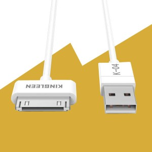 Kingleen USB Data Cable iPhone 4/4S K-04