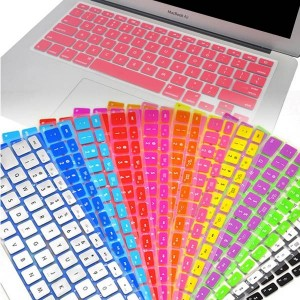 MacBook Air 11.6 Ultra Thin Silicone Rubber Keyboard Skin Cover