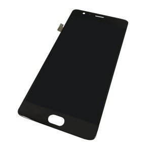 OnePlus 3 LCD Digitizer Black with Frame