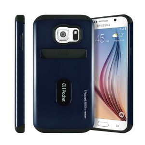 Samsung Galaxy S6 MERCURY Goospery iPocket Premium Card Case Genuine