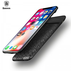 Baseus Plaid Backpack Power Bank Case for iPhone X 3500mAh