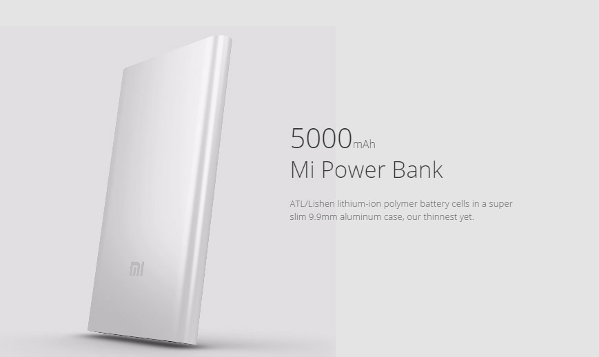 Xiaomi 5000mAh Power Bank1