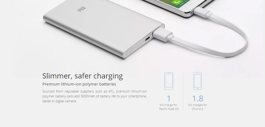 Xiaomi 5000mAh Power Bank3