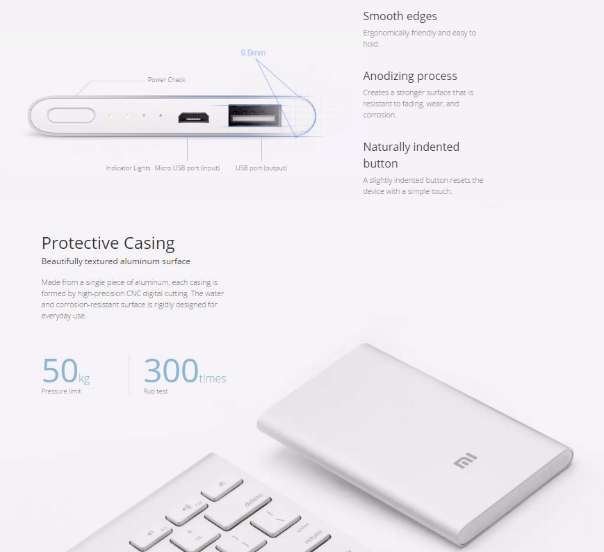 Xiaomi 5000mAh Power Bank6