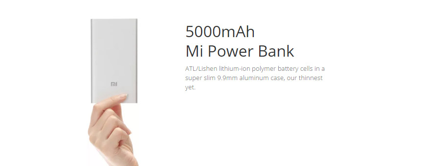 Xiaomi 5000mAh Power Bank7